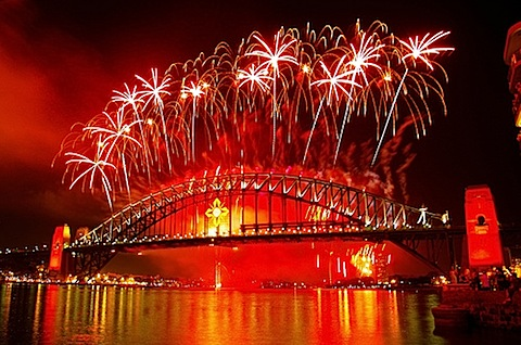 New Years in Sydney, Australia