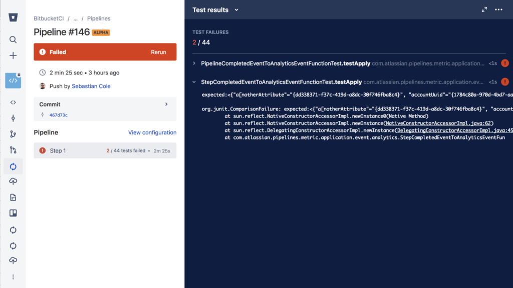 Zero-config test reporting in Bitbucket Pipelines