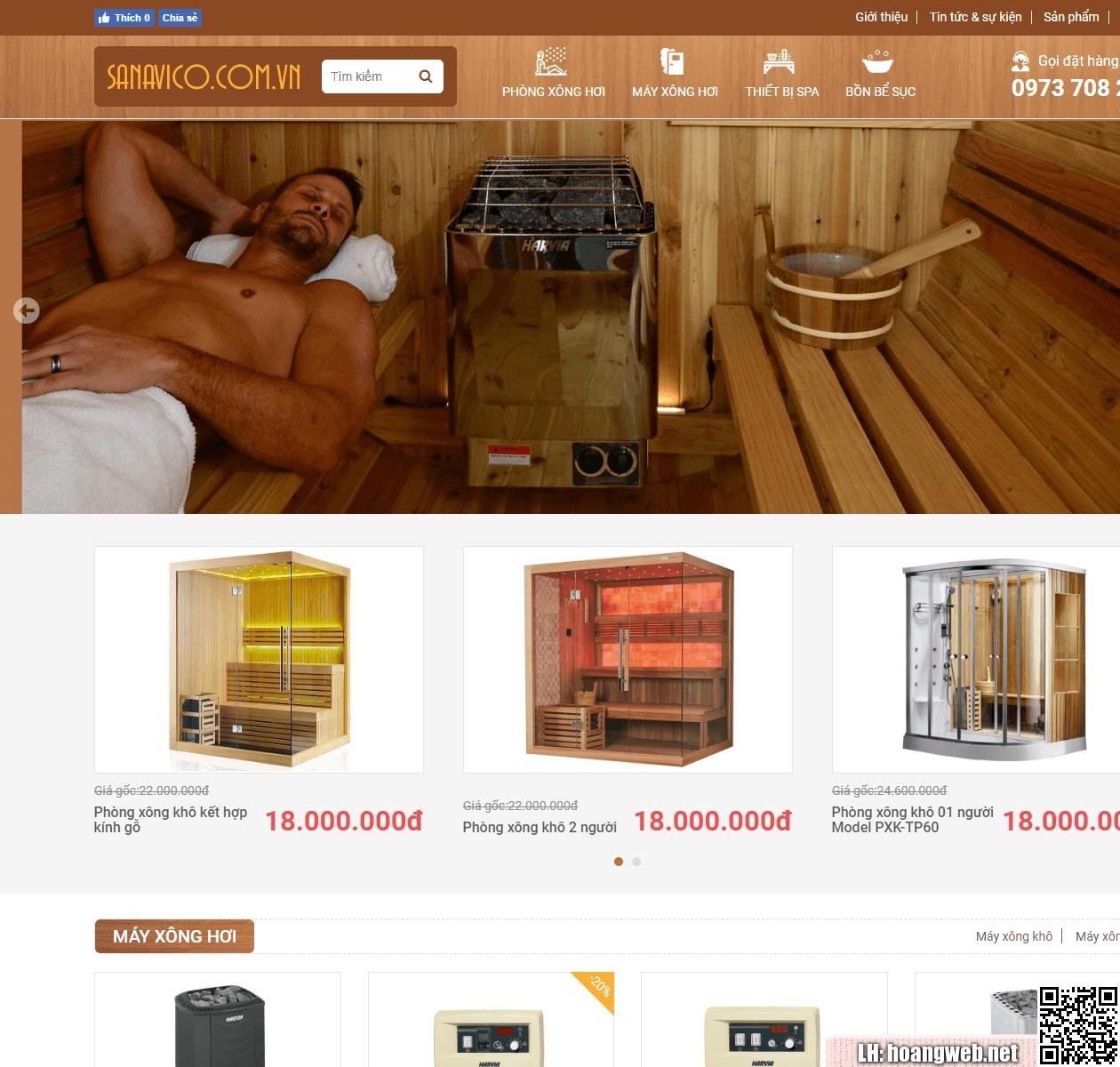 Mẫu web thiết bị vệ sinh - phòng tắm thumbnail