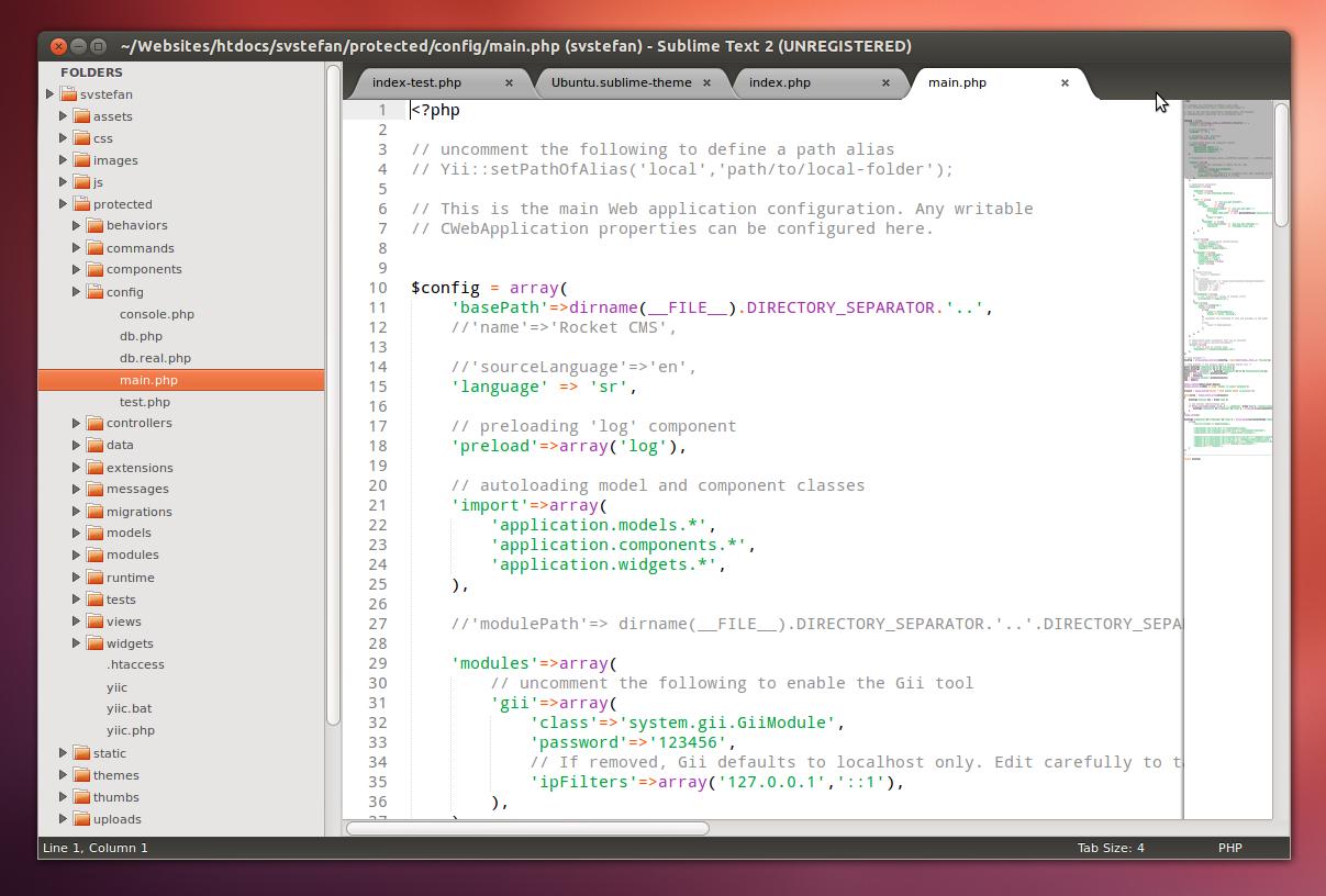 Ubuntu Theme