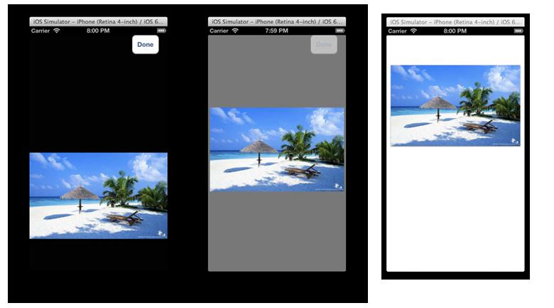 Transition screenshot