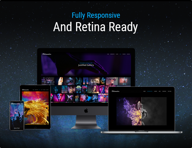 Responsive and Retina Ready Elementor Image Gallery