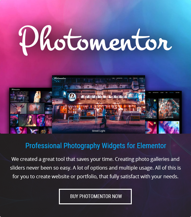 Elementor Image and Photo Gallery Plugin