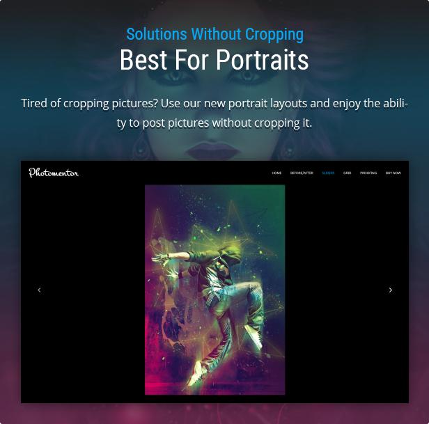 Elementor Portraits Gallery