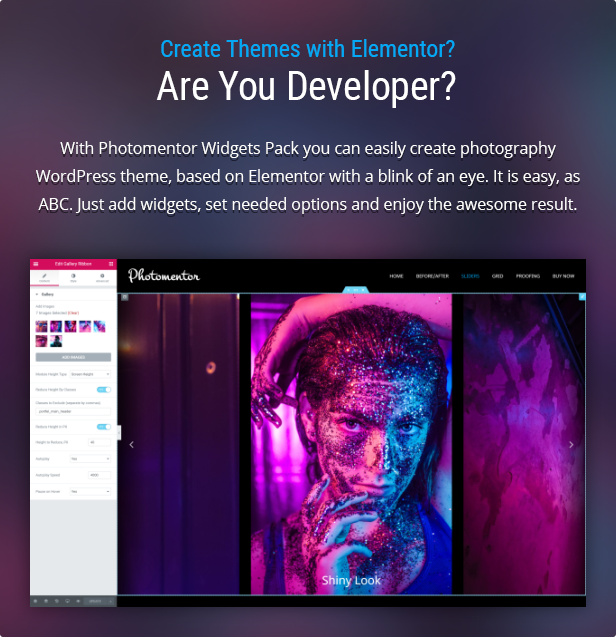 Photomentor - Image Gallery for Theme Developers