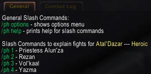 Slash Commands Screenshot