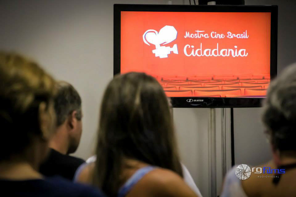 Banner do Mostra Cine Brasil Cidadania